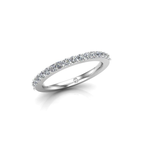 Memoire-Ring/Vorsteckring | Brillanten | 0,36 ct | tw/si