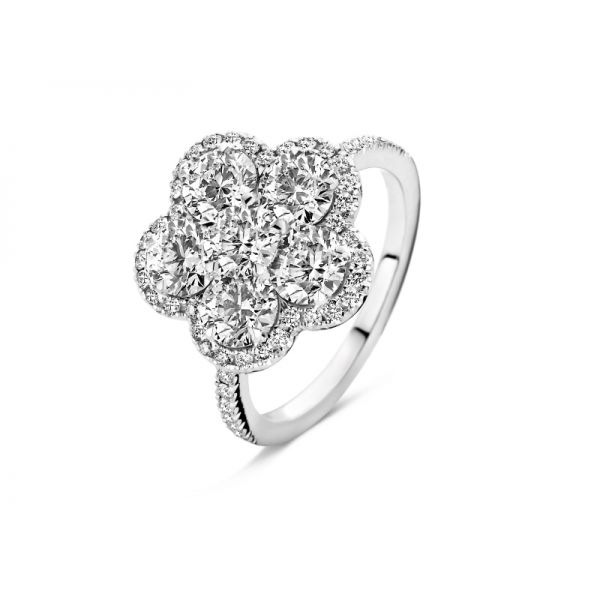 Ring | Gold 750 | Brillanten ca. 2,30 ct | tw,vs
