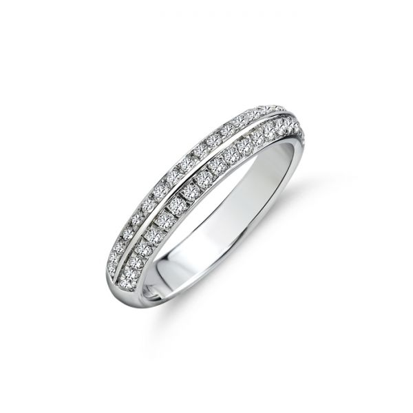 Memoire-Ring | Brillanten | 0,38 ct
