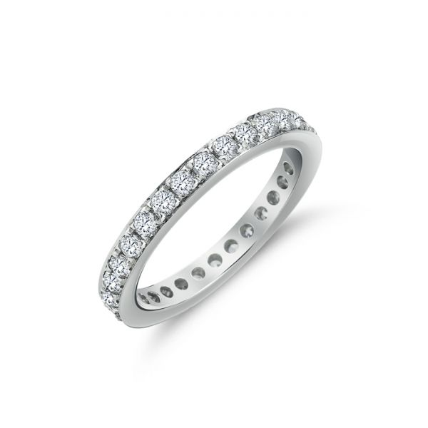 Memoire-Ring | Brillanten | 0,93 ct